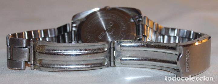 Relojes - Seiko: RELOJ SEIKO AUTOMATIC 19 JEWELS 7006-8060 JAPAN CON CALENDARIO. FUNCIONANDO - Foto 7 - 74641759