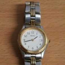 Relojes - Seiko: ANTIGUO RELOJ SEÑORA SEIKO ANALOGICO MODELO789-0330 A4 04383 BUEN ESTADO FUNCIONANDO PILAS INCLUIDAS. Lote 75002975