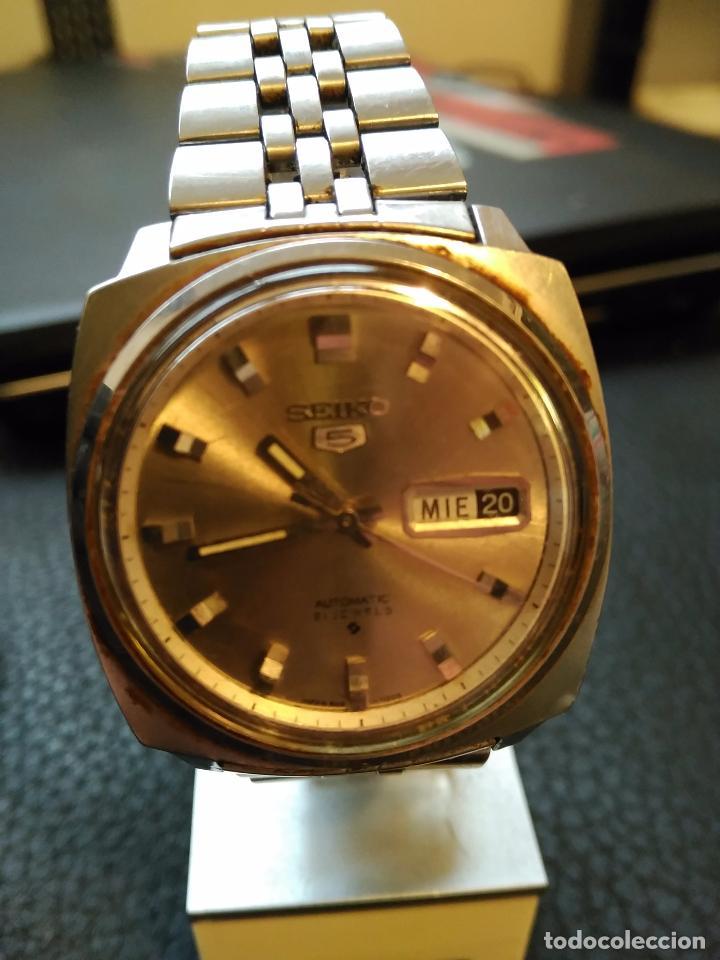reloj seiko 5 automatico 6119-7123 con calendar - Comprar Relojes ... 2b278cbfca9d