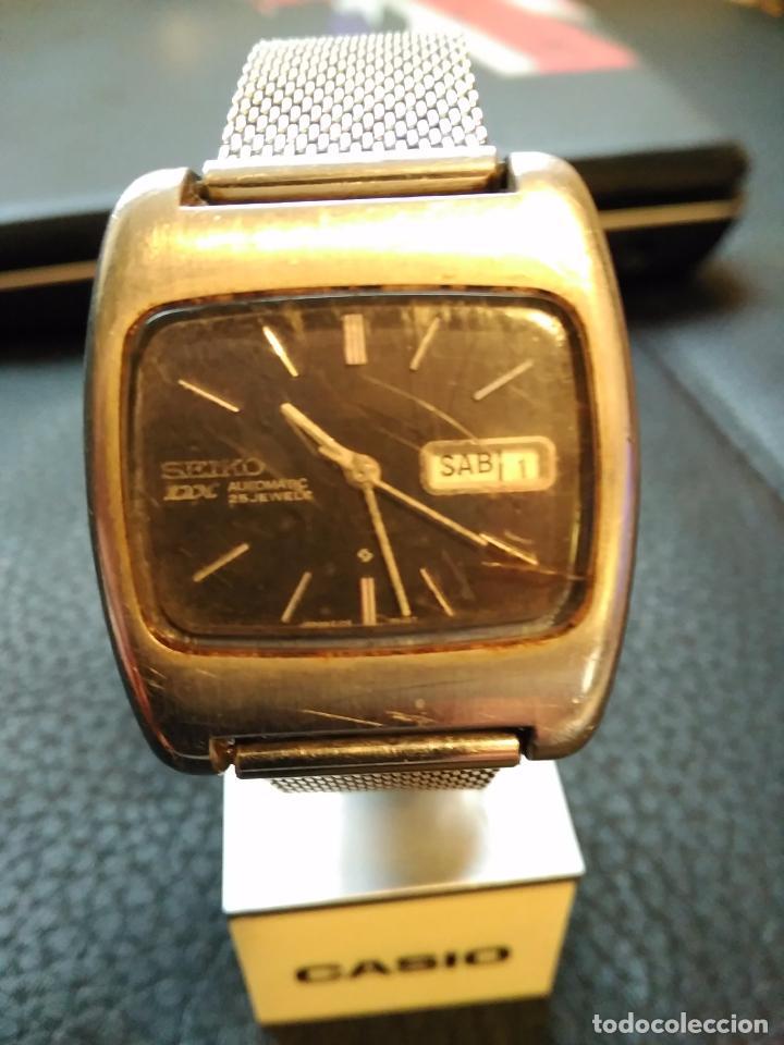VINTAGE RELOJ DE PULSERA AUTOMATICO SEIKO DX AUTOMATIC AÑOS 70 6106-5410 (Relojes - Relojes Actuales - Seiko)