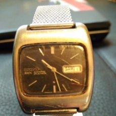 Relojes - Seiko: VINTAGE RELOJ DE PULSERA AUTOMATICO SEIKO DX AUTOMATIC AÑOS 70 6106-5410. Lote 75114003