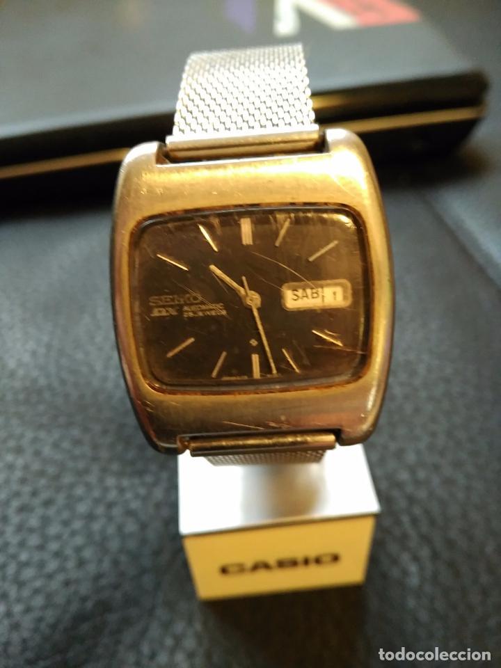 Relojes - Seiko: VINTAGE RELOJ DE PULSERA AUTOMATICO SEIKO DX AUTOMATIC AÑOS 70 6106-5410 - Foto 2 - 75114003