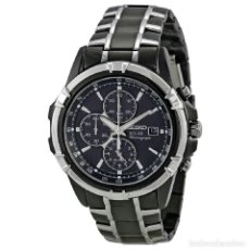 Relojes - Seiko: SEIKO CHRONOGRAPH SOLAR DRESS SPORTS ALARMA JAPANESE QUARTZ. Lote 77088645