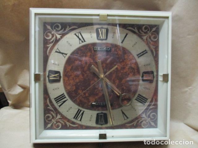 PRECIOSO RELOJ DE PARED SEIKO TRANSISTOR - FUNCIONA (Relojes - Relojes Actuales - Seiko)