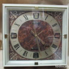 Relojes - Seiko: PRECIOSO RELOJ DE PARED SEIKO TRANSISTOR - FUNCIONA. Lote 79990201
