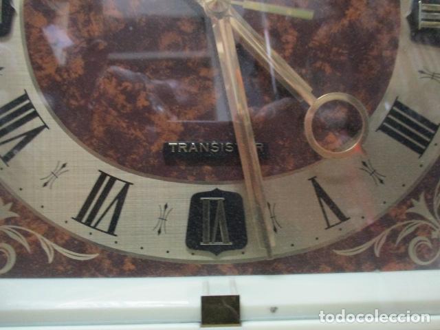 Relojes - Seiko: Precioso reloj de pared Seiko Transistor - Funciona - Foto 3 - 79990201