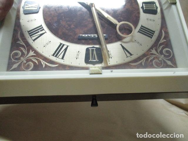 Relojes - Seiko: Precioso reloj de pared Seiko Transistor - Funciona - Foto 4 - 79990201