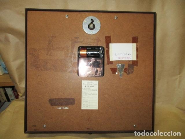 Relojes - Seiko: Precioso reloj de pared Seiko Transistor - Funciona - Foto 9 - 79990201