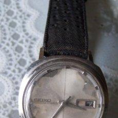 Relojes - Seiko: SEIKO SPORTSMATIC, CON CORREA ORIGINAL DE ÉPOCA DE PLÁSTICO. . Lote 84365508