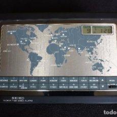 Relojes - Seiko: RELOJ SEIKO HORARIO MUNDIAL-INAGURACION FABRICA SUZUKI ESPAÑA1993. Lote 85812024