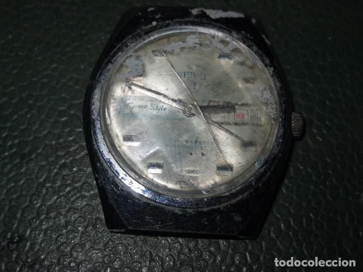 SEIKO 23 CUERDA RELOJ ANTIGUO PARA RESTAURAR (Relojes - Relojes Actuales - Seiko)