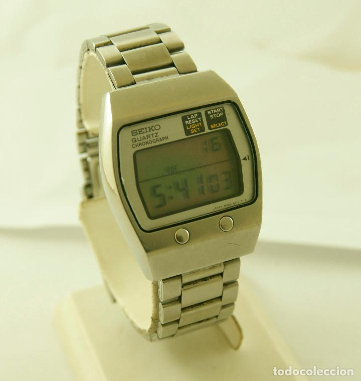 venta minorista 5cd25 07c46 Raro seiko digital m159-5010 funcionando vintag - Sold at ...