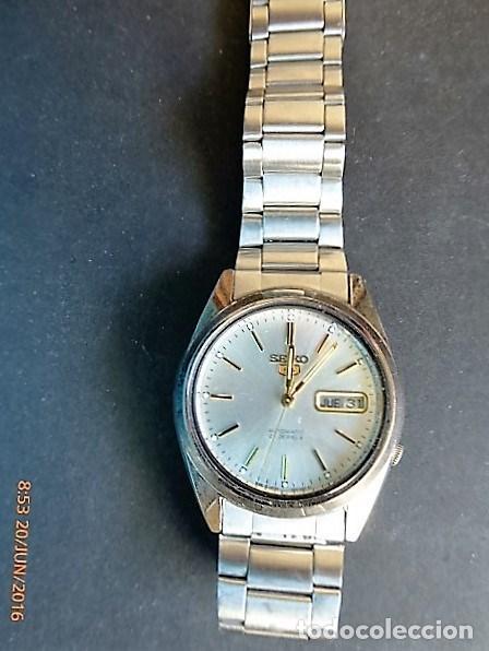 Relojes - Seiko: reloj seiko, 5 automatic 21 rubis, calendario semanario, - Foto 2 - 88141884