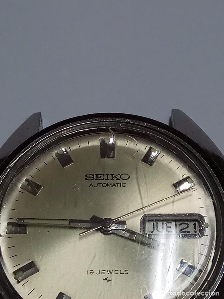 Relojes - Seiko: RELOJ CABALLERO SEIKO AUTOMATICO FUNCIONANDO - Foto 2 - 154239245