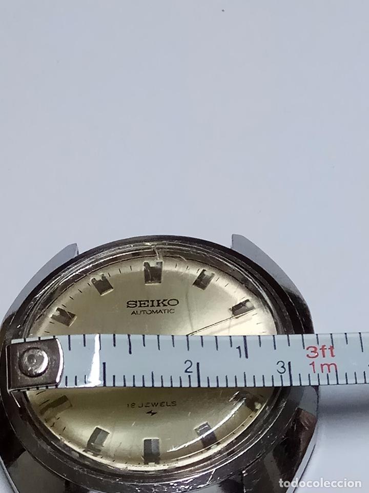 Relojes - Seiko: RELOJ CABALLERO SEIKO AUTOMATICO FUNCIONANDO - Foto 4 - 154239245