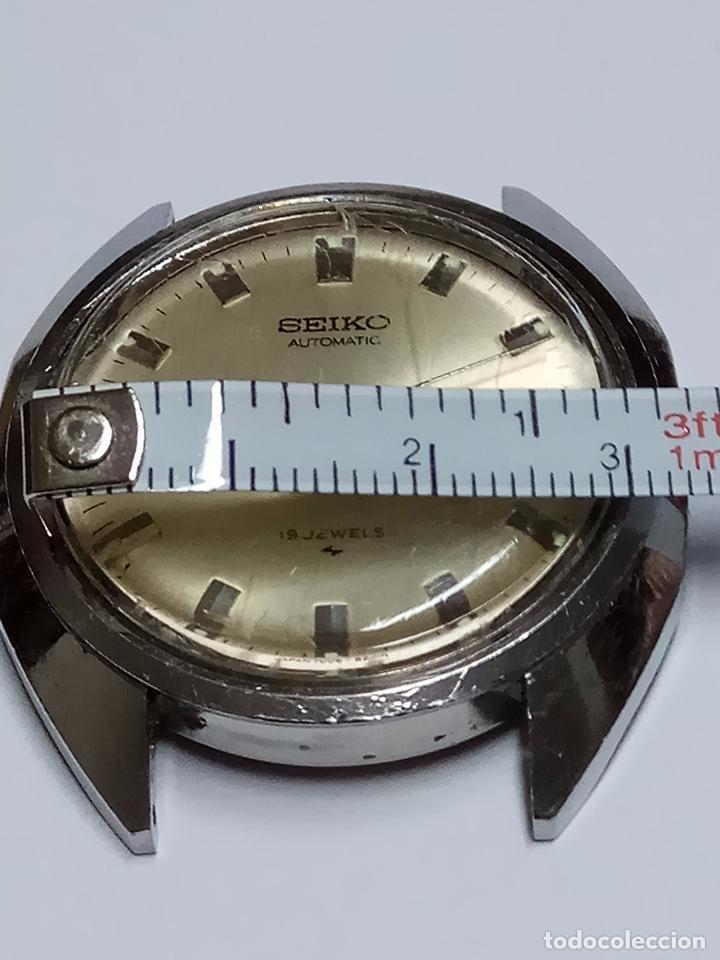 Relojes - Seiko: RELOJ CABALLERO SEIKO AUTOMATICO FUNCIONANDO - Foto 5 - 154239245