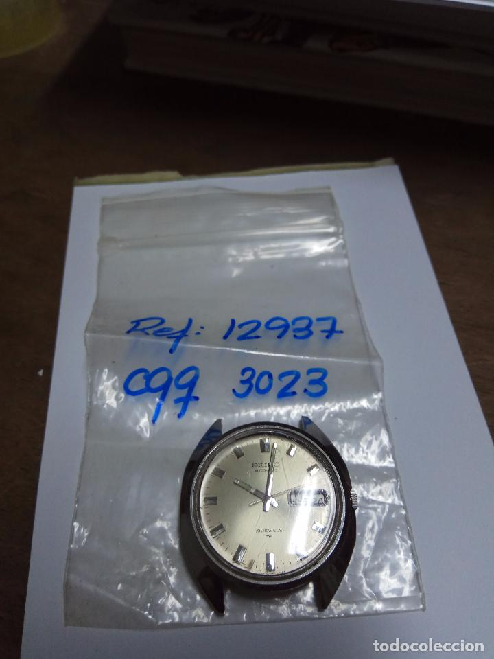 Relojes - Seiko: RELOJ CABALLERO SEIKO AUTOMATICO FUNCIONANDO - Foto 6 - 154239245