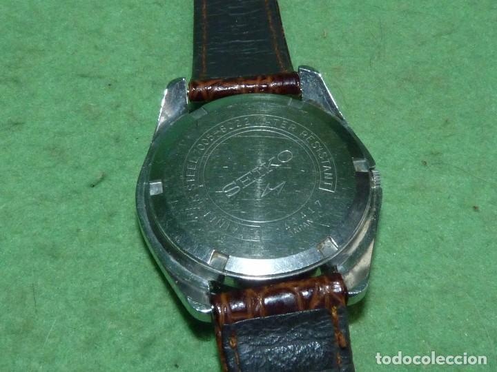 Relojes - Seiko: Bonito reloj automático Seiko años 70 17 rubis 7005-8022 vintage made in Japan - Foto 3 - 93871210