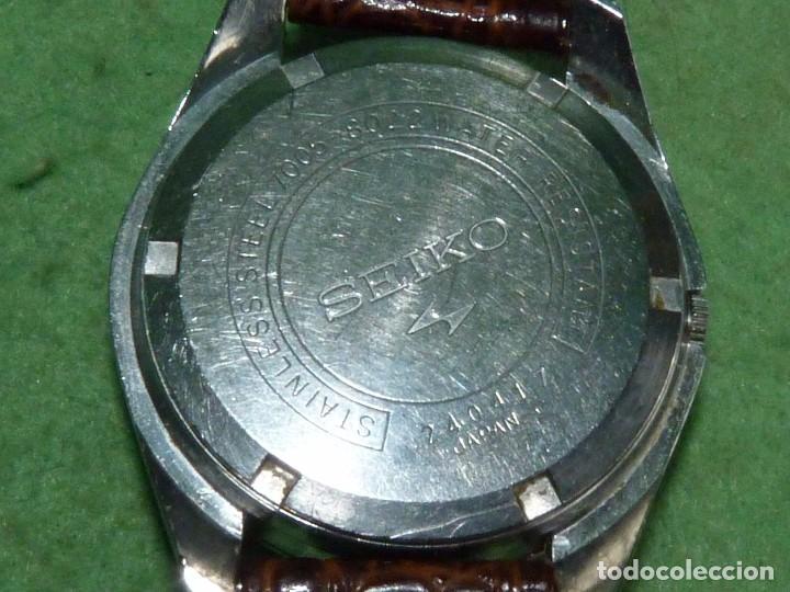 Relojes - Seiko: Bonito reloj automático Seiko años 70 17 rubis 7005-8022 vintage made in Japan - Foto 4 - 93871210