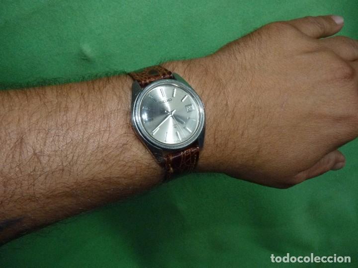 Relojes - Seiko: Bonito reloj automático Seiko años 70 17 rubis 7005-8022 vintage made in Japan - Foto 6 - 93871210