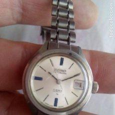 Relojes - Seiko: SEIKO SEÑORA AUTOMÁTICO 17 JEWELS MADE UN JAPAN. Lote 98047807