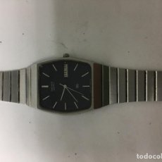 Relojes - Seiko: RELOJ SEIKO EN ACERO COMPLETO QUARZ EN FUNCIONAMIENTO TODO ORIGINAL . Lote 98203783