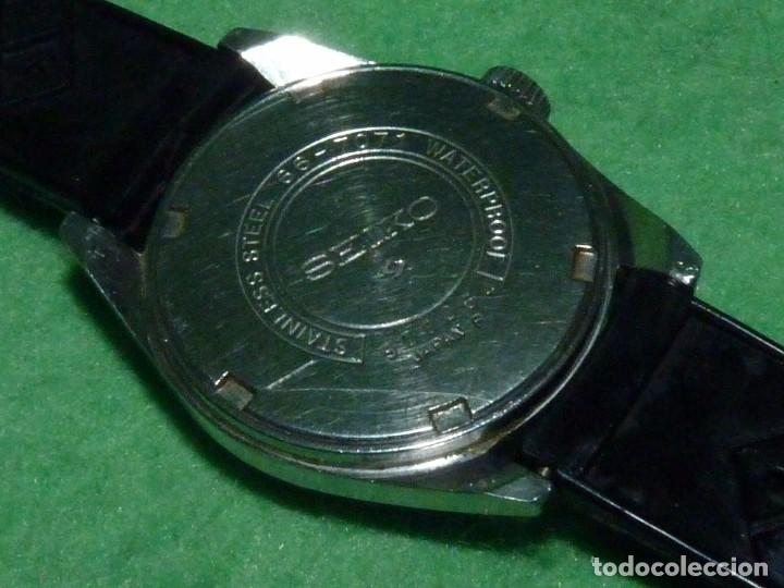 Relojes - Seiko: Buscado reloj Seiko 66-7071 carga manual 17 rubis vintage 1969 made in Japan todo acero waterproof - Foto 4 - 101776931