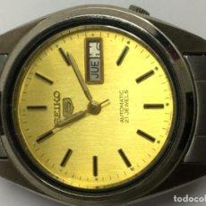 Relojes - Seiko: RELOJ SEIKO AUTOMÁTICO EN ACERO COMPLETO COMO NUEVO . Lote 103668243