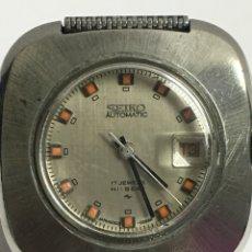 Relojes - Seiko: RELOJ SEIKO AUTOMÁTICO EN ACERO COMPLETO Y CORREA MALLA ACERO. Lote 103676067