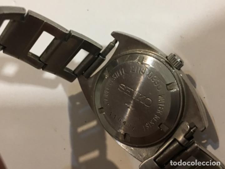 Relojes - Seiko: Reloj Seiko carga manual en acero completo en funcionamiento - Foto 4 - 208579346