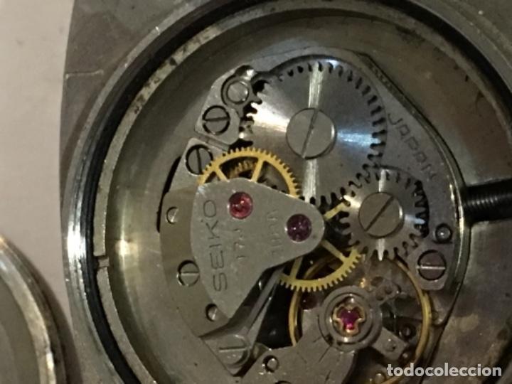 Relojes - Seiko: Reloj Seiko carga manual en acero completo en funcionamiento - Foto 9 - 208579346