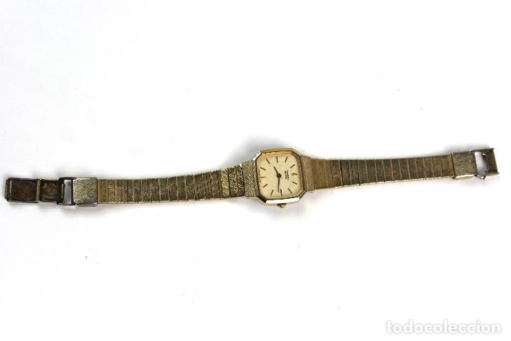 Relojes - Seiko: REL-13. RELOJ DE PULSERA SEIKO QUARTZ.. JAPAN. 2320/5110R . PLAQUE ORO. - Foto 4 - 104469099