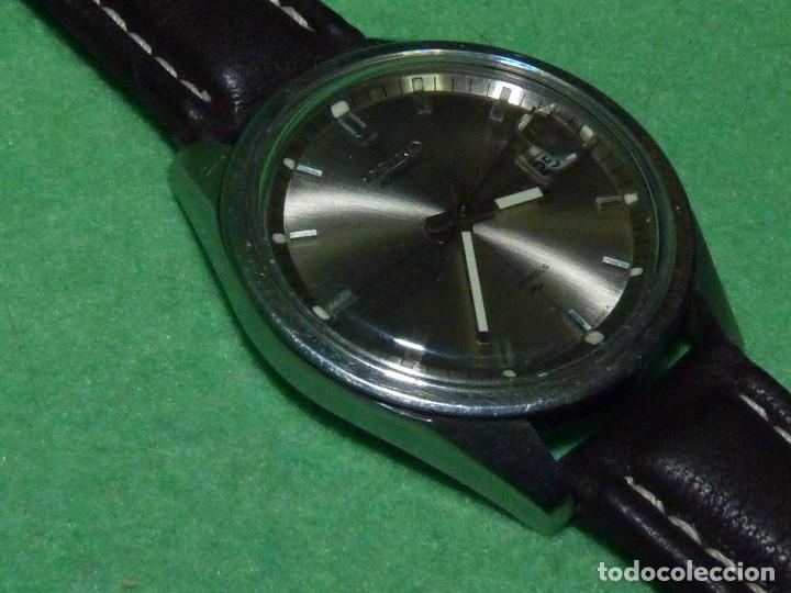 Relojes - Seiko: Raro reloj Seiko 7005-8062 Jumbo automático 17 rubis 1974 vintage Japan gran tamaño - Foto 3 - 105376435