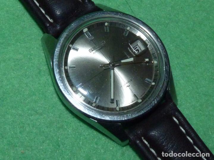 Relojes - Seiko: Raro reloj Seiko 7005-8062 Jumbo automático 17 rubis 1974 vintage Japan gran tamaño - Foto 4 - 105376435