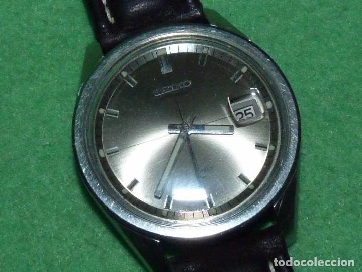 Relojes - Seiko: Raro reloj Seiko 7005-8062 Jumbo automático 17 rubis 1974 vintage Japan gran tamaño - Foto 5 - 105376435