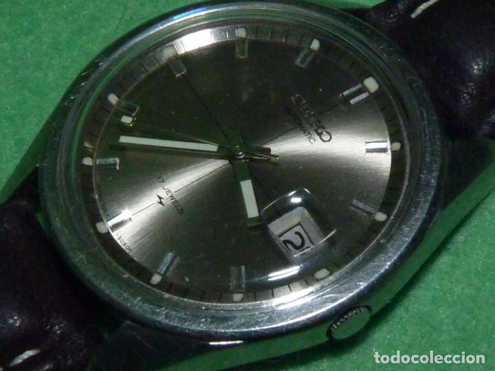 Relojes - Seiko: Raro reloj Seiko 7005-8062 Jumbo automático 17 rubis 1974 vintage Japan gran tamaño - Foto 6 - 105376435