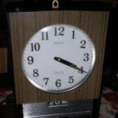 Relojes - Seiko: RELOJ VINTAGE SEIKO SONOLA CON SONERÍA FUNCIONANDO PERFECTO MADE IN JAPAN. Lote 106926811