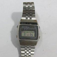 Relojes - Seiko: RELOJ DIGITAL SEIKO, DE ACERO. Lote 109025507