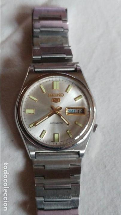 SEIKO 5 AUTOMATIC 17 JEWELS 36 MMS REF.7019 ESTADO NORMAL (Relojes - Relojes Actuales - Seiko)
