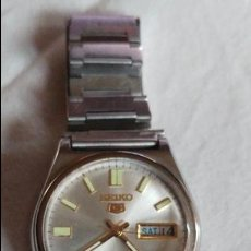Relojes - Seiko: SEIKO 5 AUTOMATIC 17 JEWELS 36 MMS REF.7019 ESTADO NORMAL . Lote 112910207