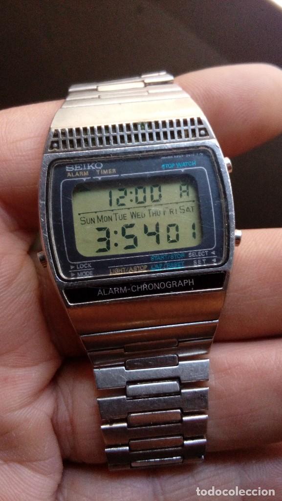 ANTIGUO RELOJ SEIKO ALARM-CHRONOGRAPH, MADE IN JAPAN (Relojes - Relojes Actuales - Seiko)
