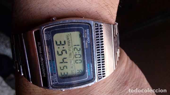 Relojes - Seiko: ANTIGUO RELOJ SEIKO ALARM-CHRONOGRAPH, MADE IN JAPAN - Foto 5 - 114899915