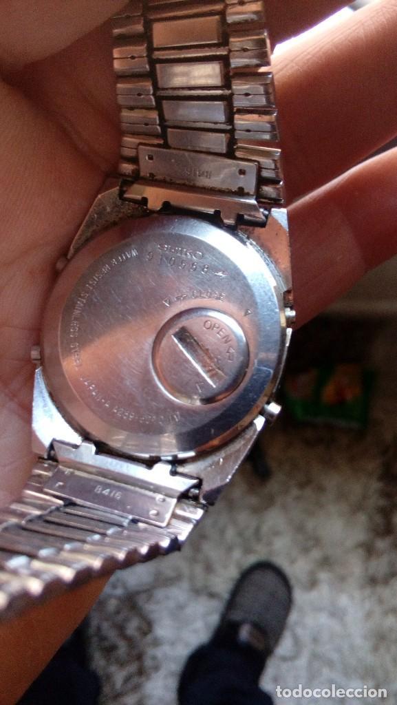 Relojes - Seiko: ANTIGUO RELOJ SEIKO ALARM-CHRONOGRAPH, MADE IN JAPAN - Foto 6 - 114899915