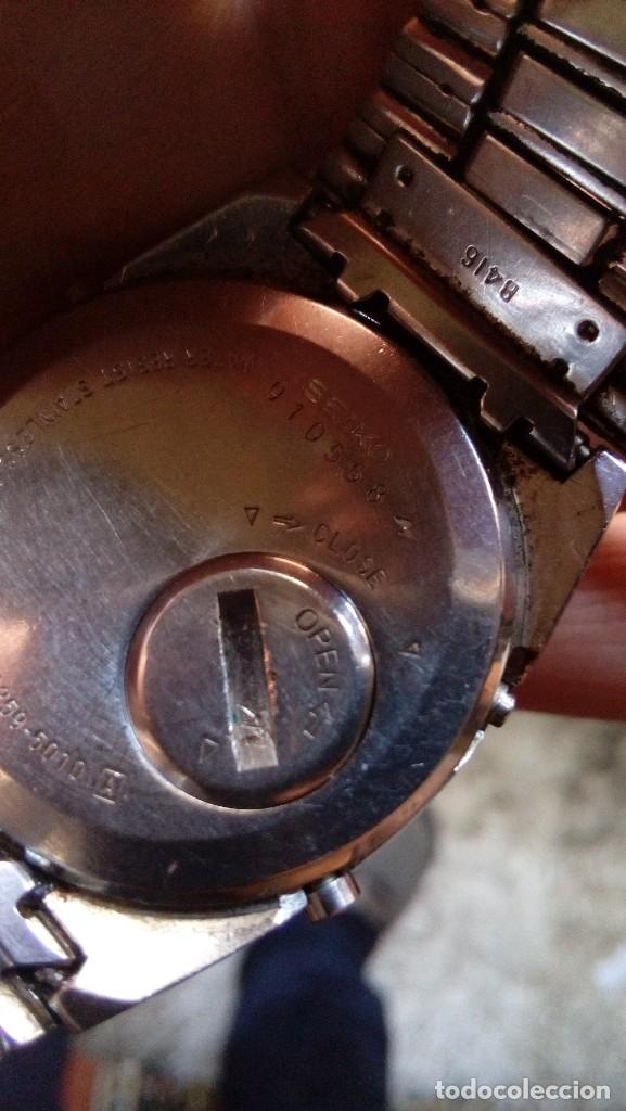 Relojes - Seiko: ANTIGUO RELOJ SEIKO ALARM-CHRONOGRAPH, MADE IN JAPAN - Foto 7 - 114899915