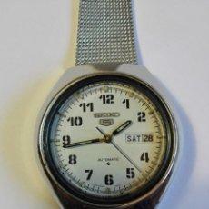 Relojes - Seiko: RELOJ SEIKO 5 CLÁSICO. Lote 115572731
