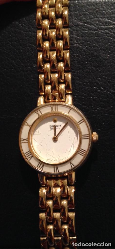 Relojes - Seiko: Lote 2 relojes pulsera SEIKO mujer Modelos 4N00 0230 y 1N00 0D20 - Foto 3 - 116291919