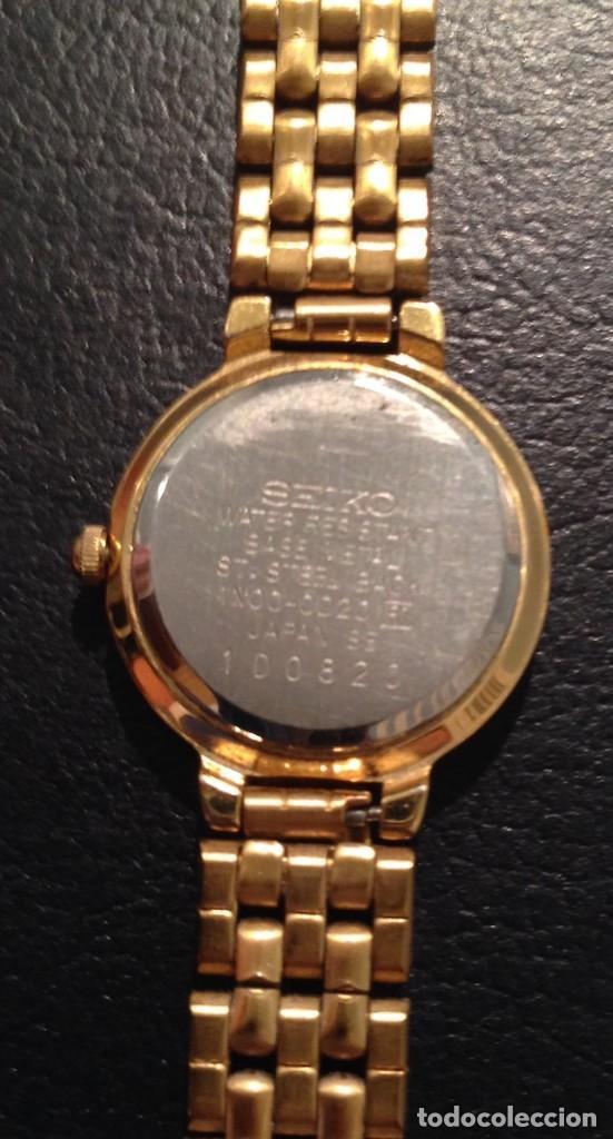 Relojes - Seiko: Lote 2 relojes pulsera SEIKO mujer Modelos 4N00 0230 y 1N00 0D20 - Foto 5 - 116291919