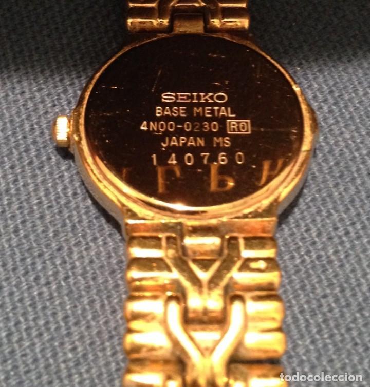 Relojes - Seiko: Lote 2 relojes pulsera SEIKO mujer Modelos 4N00 0230 y 1N00 0D20 - Foto 8 - 116291919