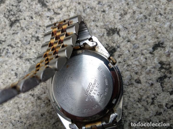Relojes - Seiko: Reloj Seiko 5 automático funcionando correctamente - Foto 7 - 116831163