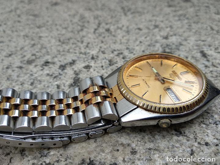 Relojes - Seiko: Reloj Seiko 5 automático funcionando correctamente - Foto 8 - 116831163